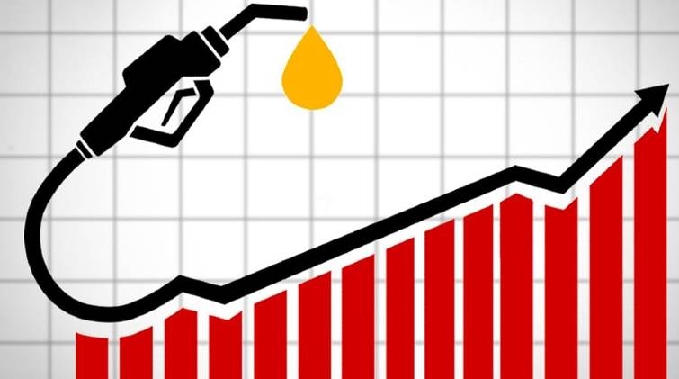 fuel price after an interval