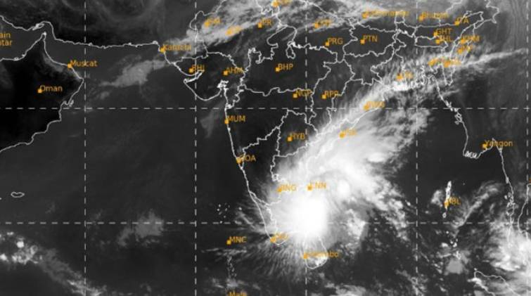 nivar cyclone within 3 hours