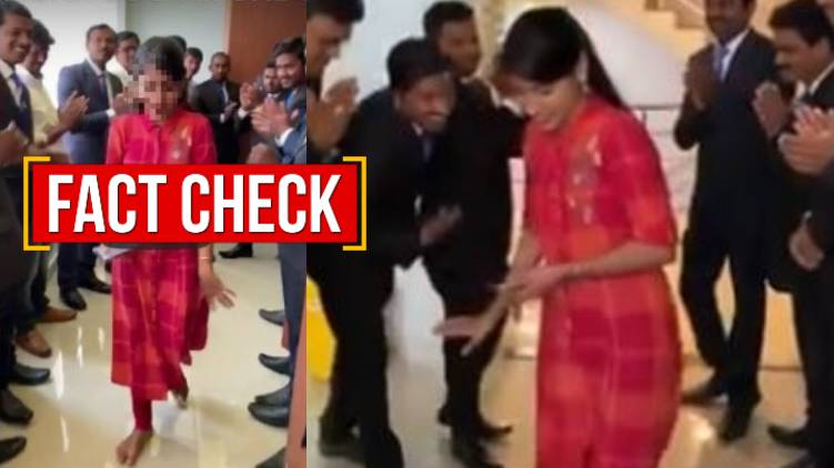 this is not annies kanmani joy video 24 fact check