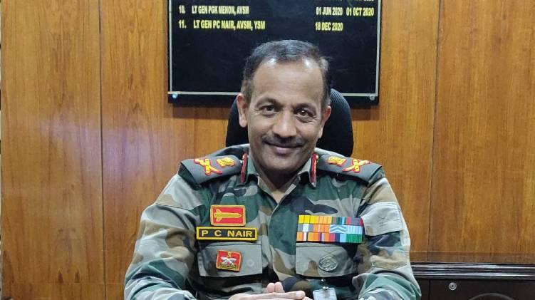 pradeep nair army recruitment director general