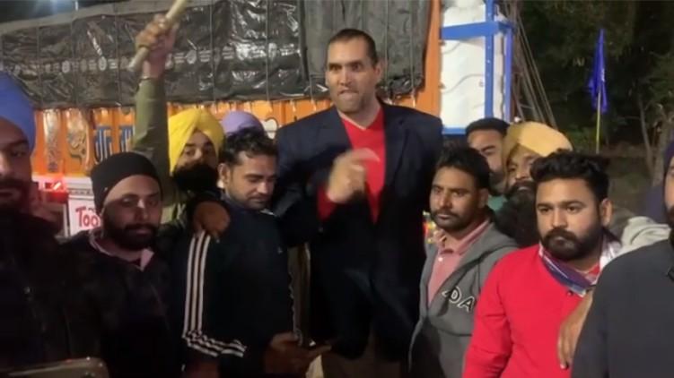 Great Khali Farmers Protest