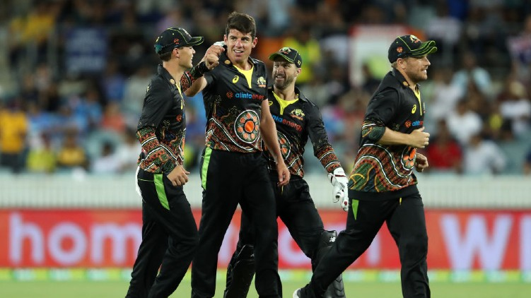 australia india t-20 innings