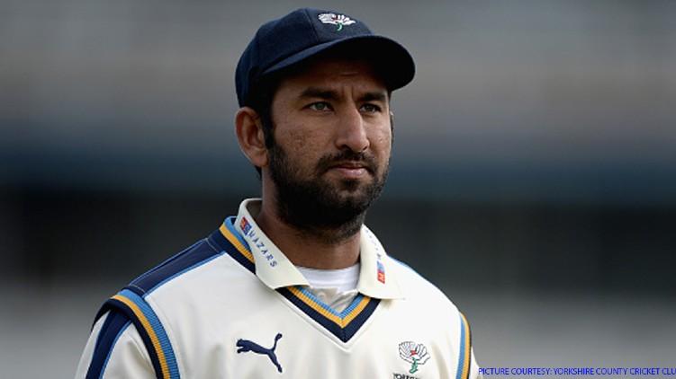 Yorkshire Cricket Cheteshwar Pujara