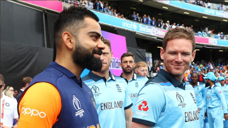 England Tour India schedule