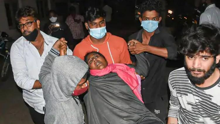 Mystery illness Andhra Organochlorine
