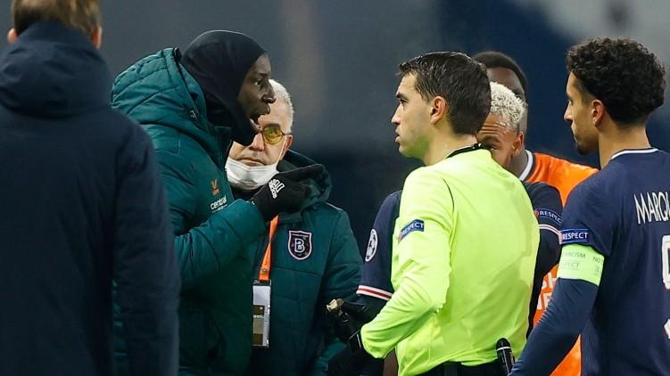 PSG Istanbul Basaksehir racism