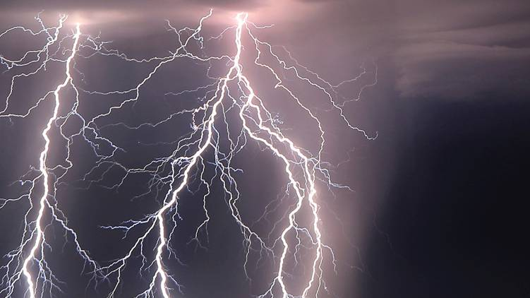 potential for Thundershowers and heavy rain in the state today