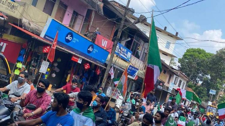 Welfare Party-UDF joint election rally in Mukkam