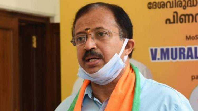 Muslim League decides Congress president; Union Minister V Muraleedharan