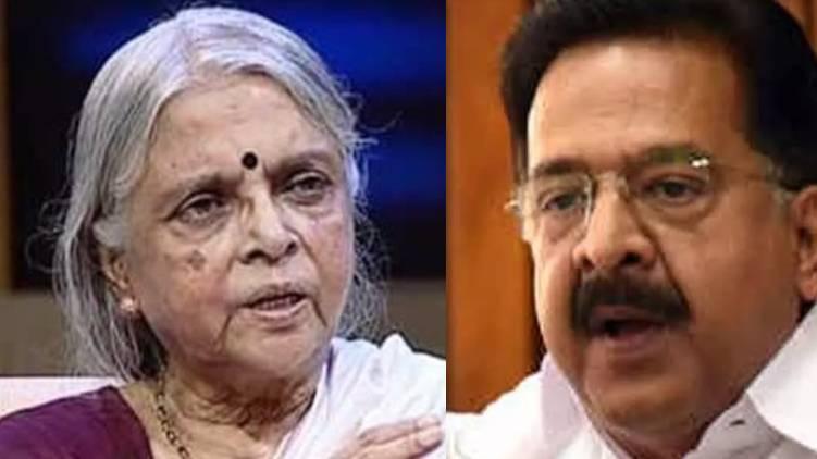Ramesh Chennithala pays homage to poetess Sugathakumari