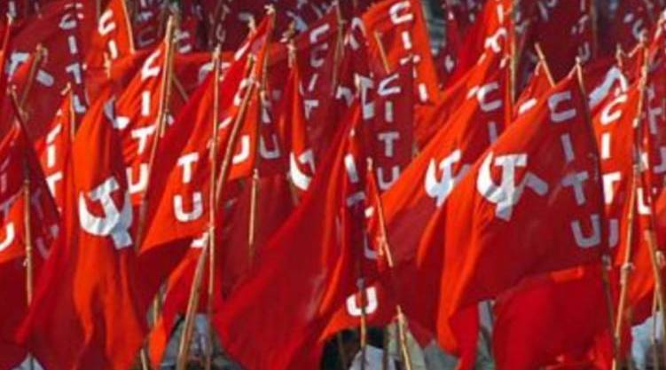Farmers' protest; workers will also line up; CITU