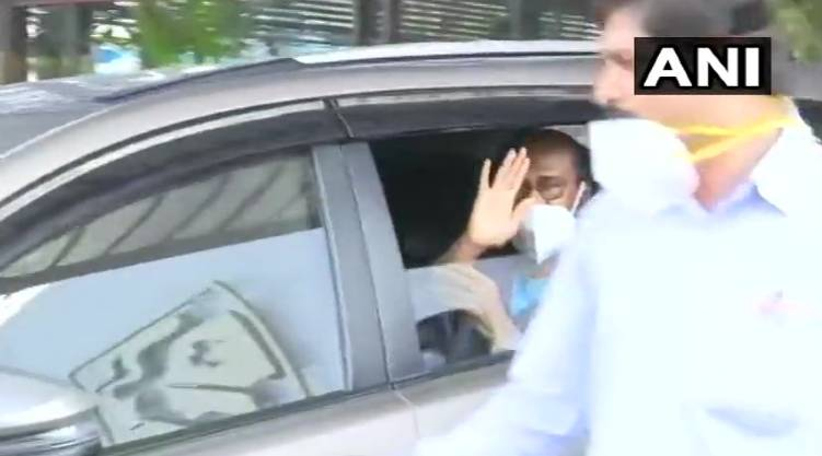 Actor Rajinikanth discharged from Hyderabad's Apollo Hospital.