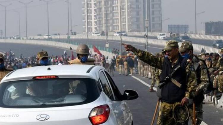 delhi chalo movement
