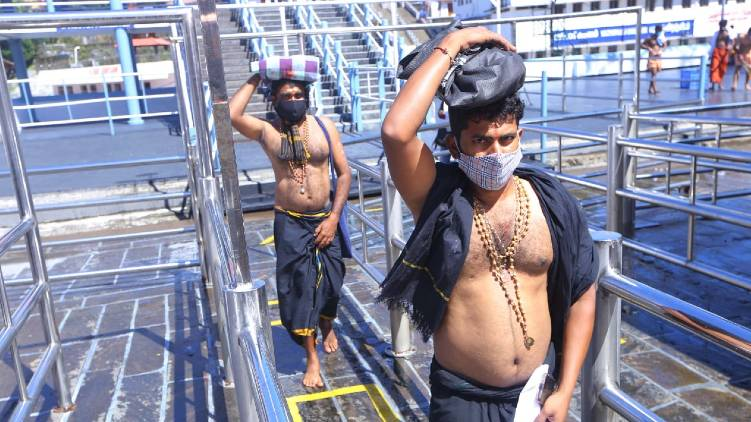 number of pilgrims at Sabarimala has doubled
