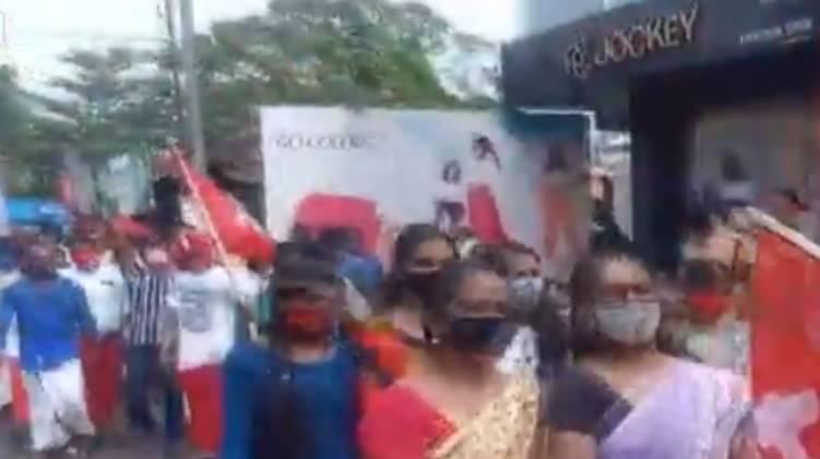 alappuzha protest