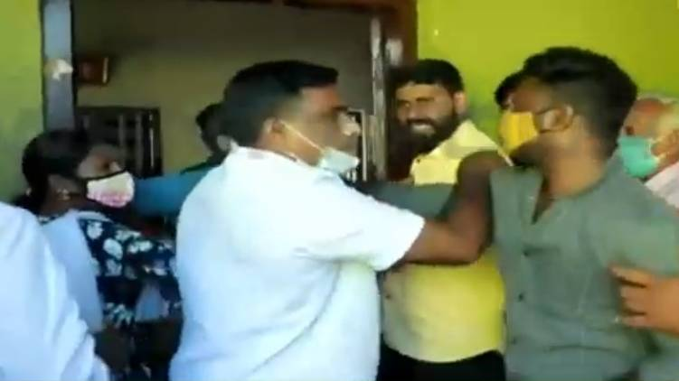 cpim workers attacked 20 20 husband and wife