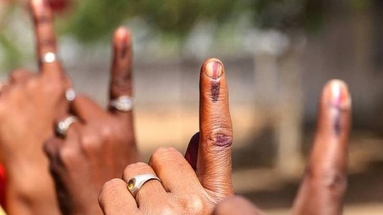 first phase local body polls 72.67 percent poling