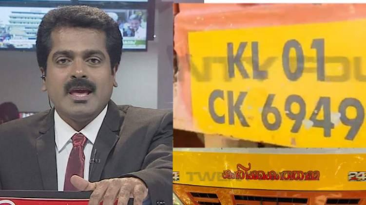 journalist s v pradeep died an accident in trivandrum