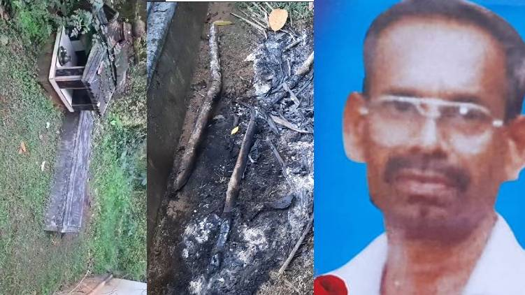 kollam father suicides beside son tomb