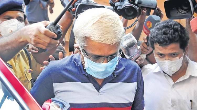 m sivasankar arrested