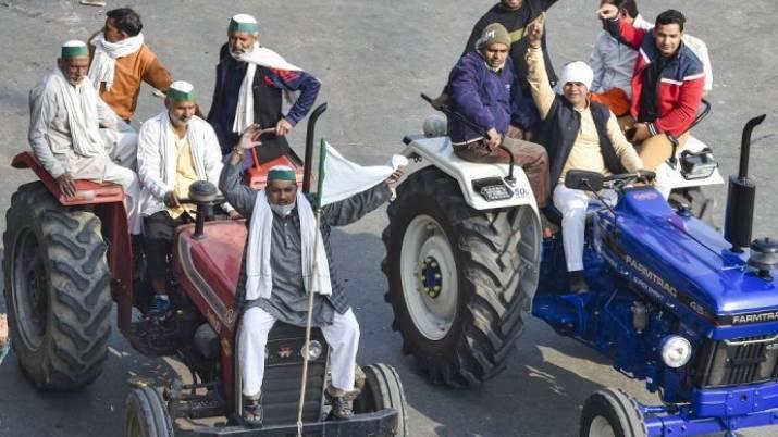 tractor delhi chalo protest