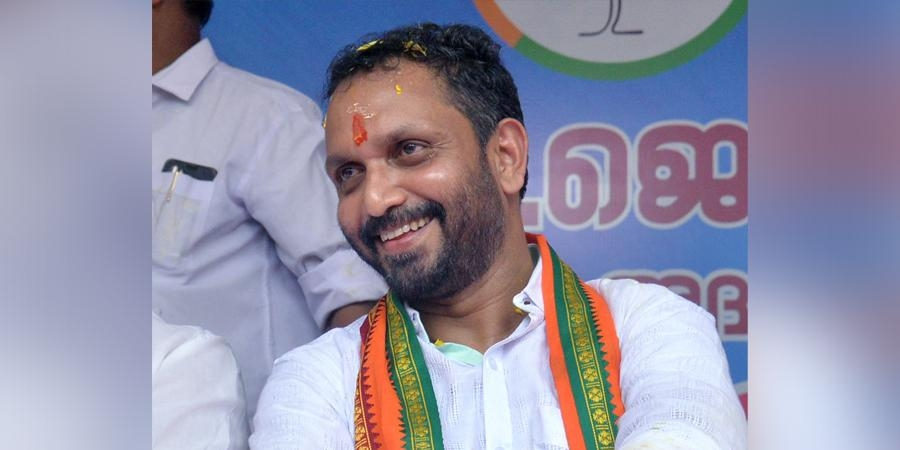 cm has link with gold msuggling says k surendran