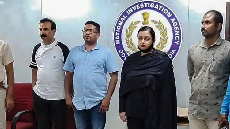 swapna and sandeep in NIA custody