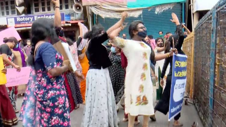 thrissur transgenders protest march