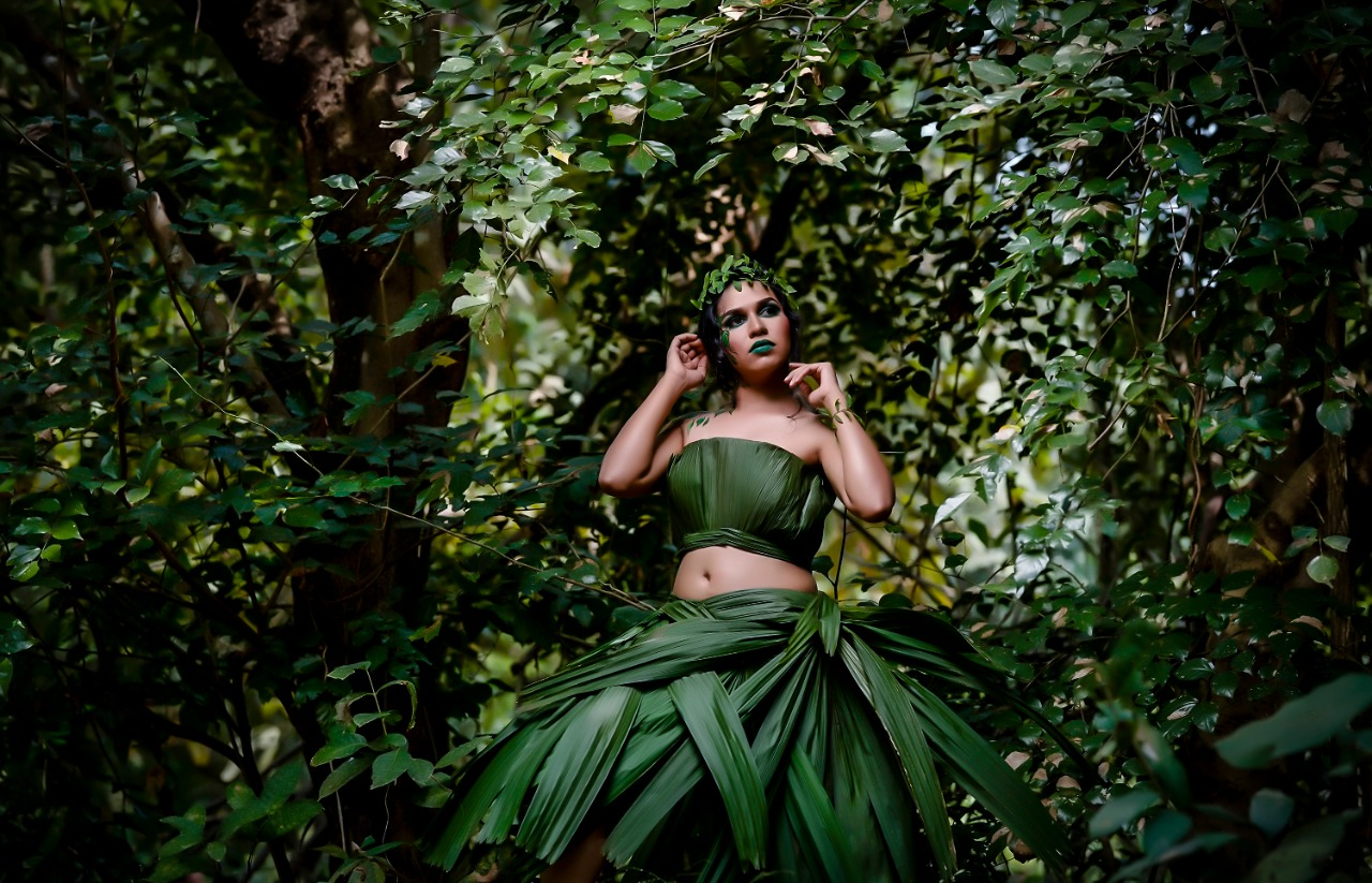 nature themed photoshoot grabs attention
