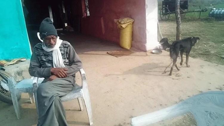farmer property pet dog