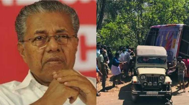 Panathur accident: CM condoles