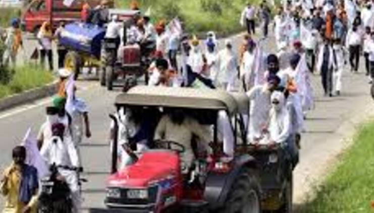 Farmers' protest; Tractor rally on Thursday