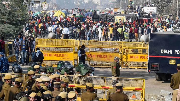 farmers tractor rallies Delhi