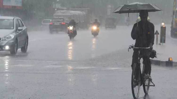 Thundershowers expected kerala today