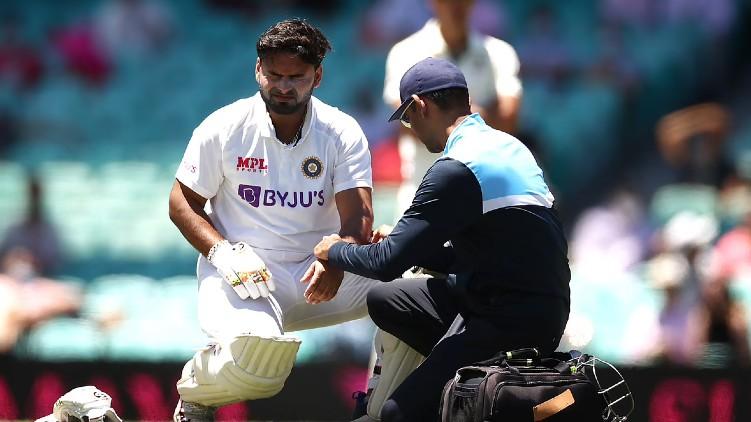 rishabh pant jadeja injured