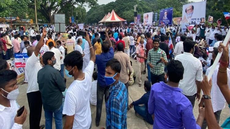 Rajinikanth fans Chennai political