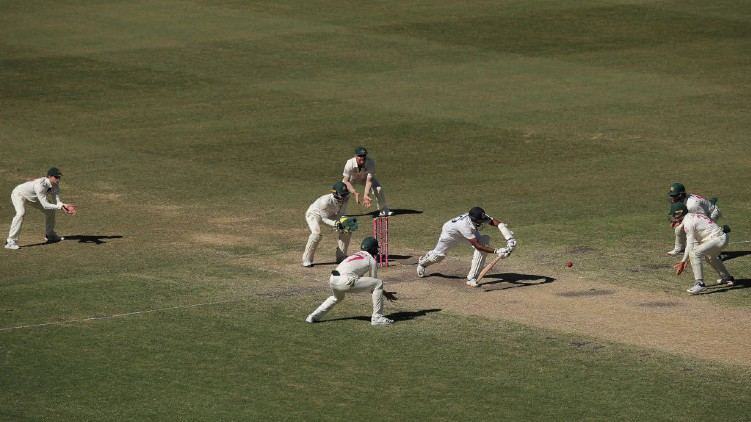 india drew australia test