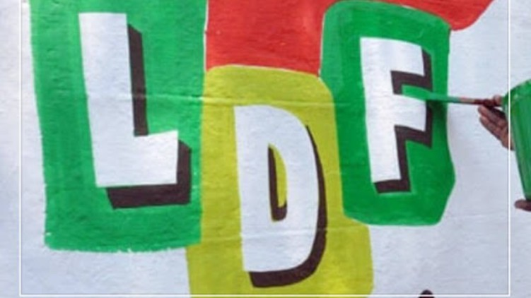 Explosion LDF Ernakulam district