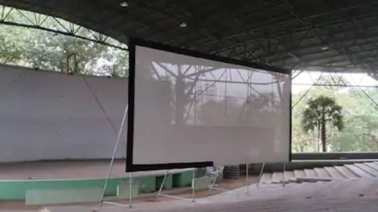 nishagandhi auditorium open theatre