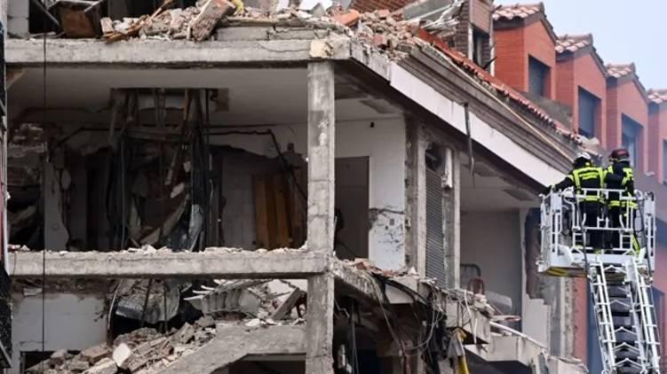 madrid building explosion