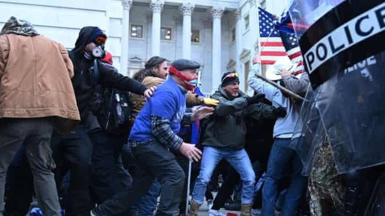 trump supporters attack us parliament
