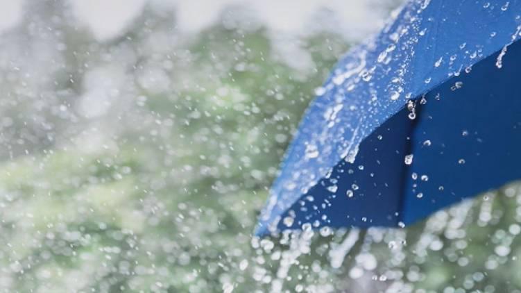 heavy rain till monday