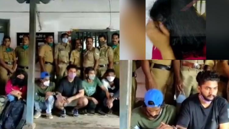 kannur drug hunt 7 arrested