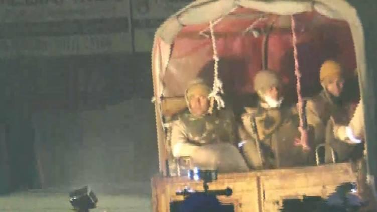 police leaves gazipur