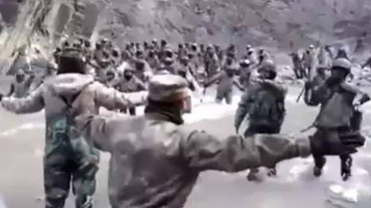 China releases video of Galwan valley clash
