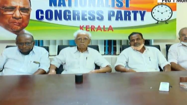 NCP KERALA LEADERS FLY TO MUMBAI