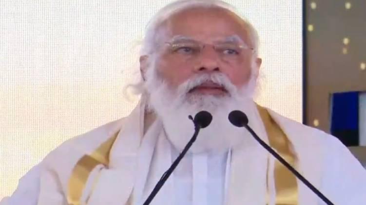 PM inaugurates 5 projects kerala