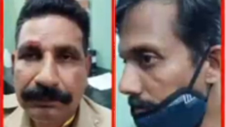 Attack police officers Kozhikode