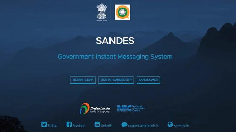 Sandes India's WhatsApp app