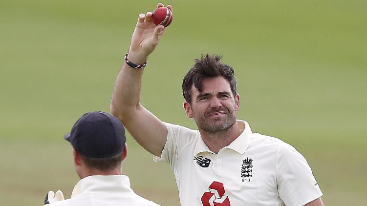 James Anderson Rested Test